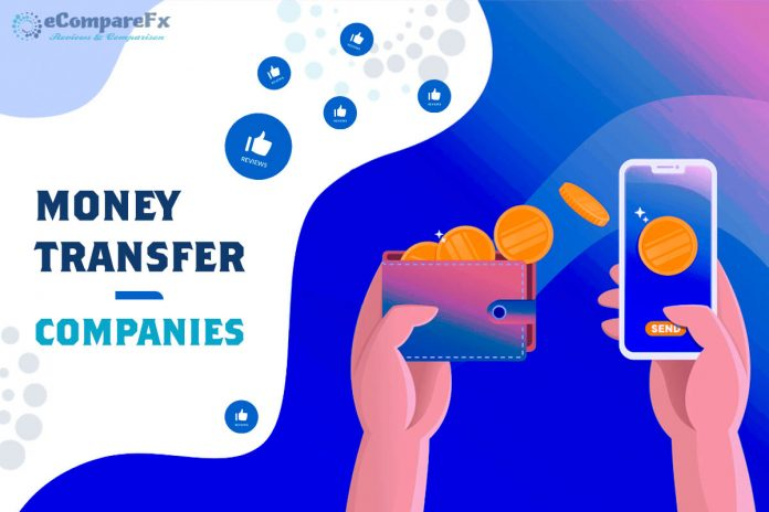International Money Transfer Companies Introduced by eCompareFX