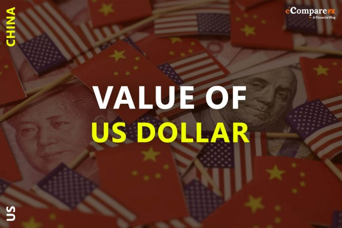 US Dollar rises amid the plunge of the tension between US-China