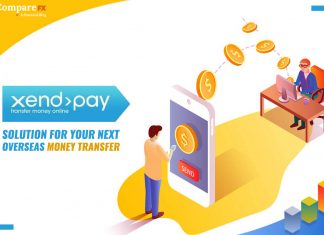 Xendpay overseas money transfer review by eCommpareFX