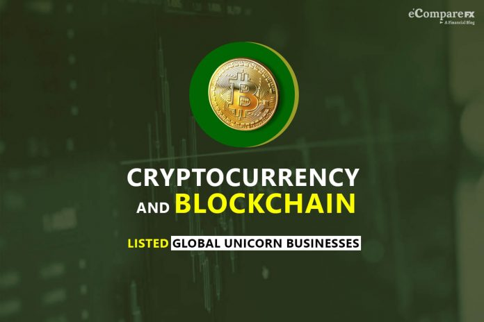Cryptocurrency and Blockchain companies are now in the list of Global Unicorn Businesses