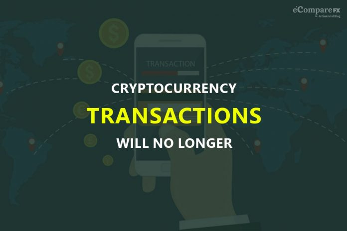 Cryptocurrency transactions will no longer be anonymous in the next few years