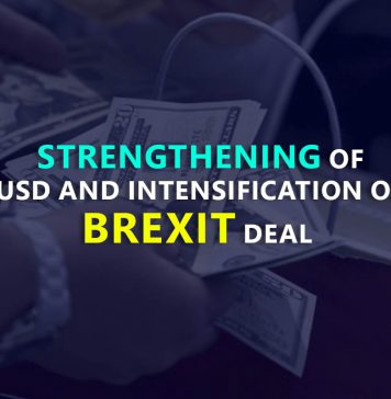 Week in FOREX is marked with the strengthening of USD and intensification of Brexit deal