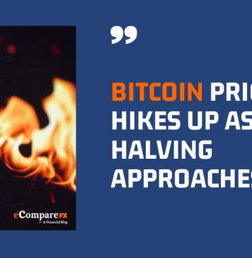 Bitcoin Price Hikes Up As The Halving Approaches-ecomparefx