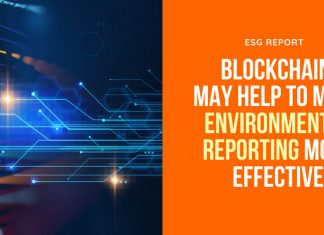 Blockchain May Help To Make Environmental Reporting More Effective