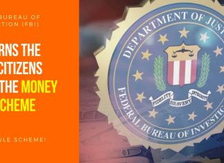 FBI Warns The State Citizens About The Money Mule Scheme