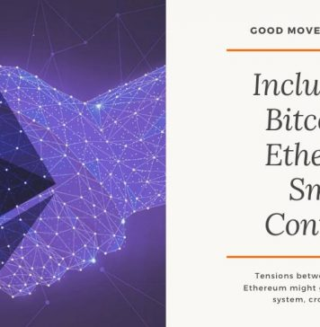 Inclusion of Bitcoin in Ethereum Smart Contracts - eCompareFX