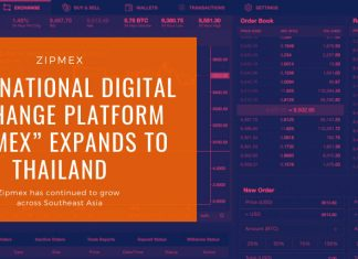 "International Digital Exchange Platform ""Zipmex"" Expands to Thailand"