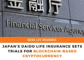 Japan's Daido Life Insurance Sets Trials For Blockchain-Based Cryptocurrency