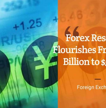 Forex Reserves Flourishes From $1.27 Billion to $506.84 | eCompareFX